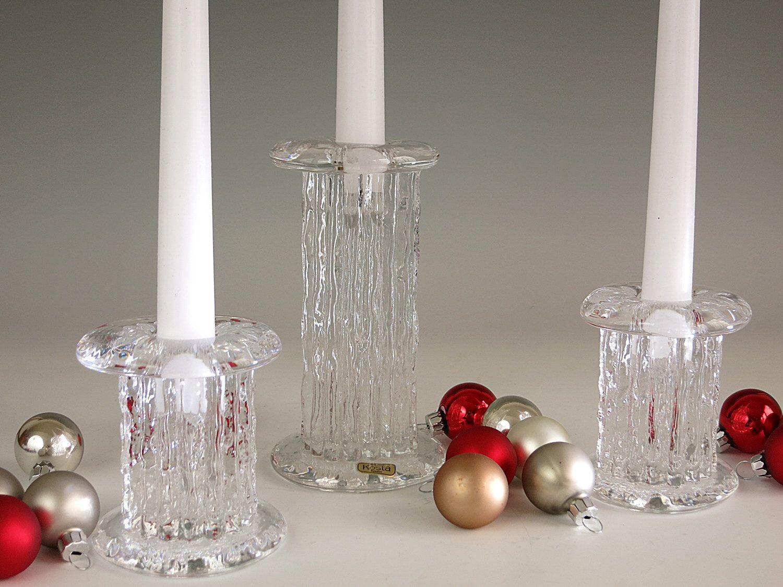Vintage Kosta Sweden Pillar Candleholders Rurik Candle Etsy Candle Holders Best Candles Etsy Candles