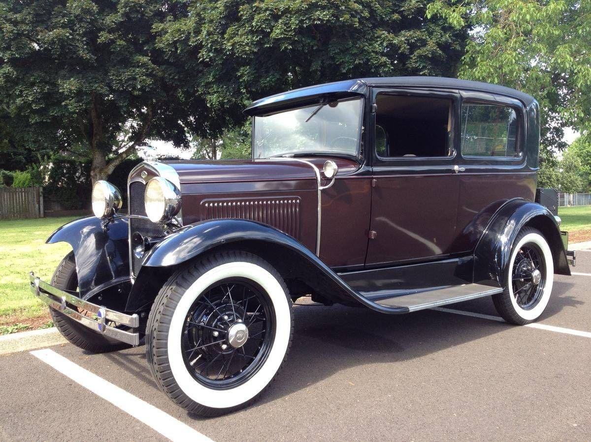 1931 Ford Model A Deluxe Tudor Sedan | Ford | Pinterest | Ford ...