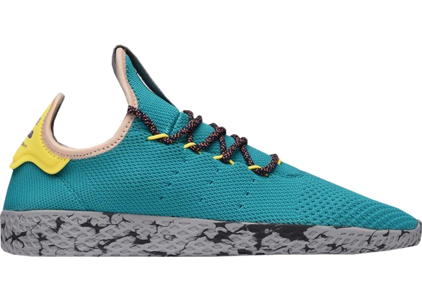 adidas Tennis HU Pharrell Teal in 2020