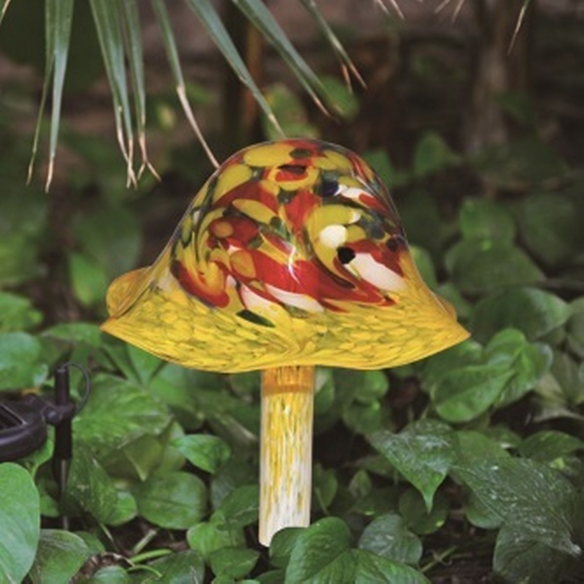 Perfect Coloriscape By Viz Glass Falling For Mushrooms Solar Art On Sneakpeeq