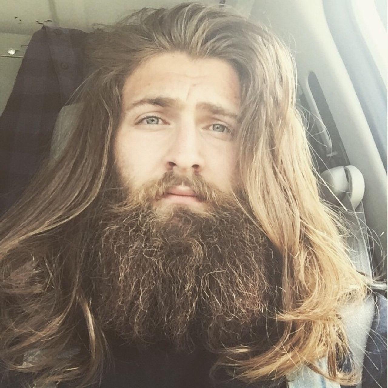 Beardelicious Bearditorium Floyd Long Hair Beard Long Hair Styles Men Beard Styles