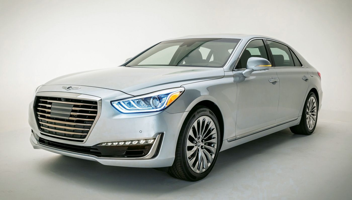 The Genesis G90 Launches As Four Door Flagship Of Hyundai S New Luxury Brand