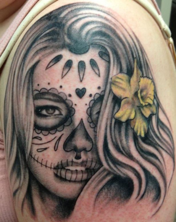 ink masters tattoo gallery la belle loftis ink master photo galleries and pictures. Black Bedroom Furniture Sets. Home Design Ideas