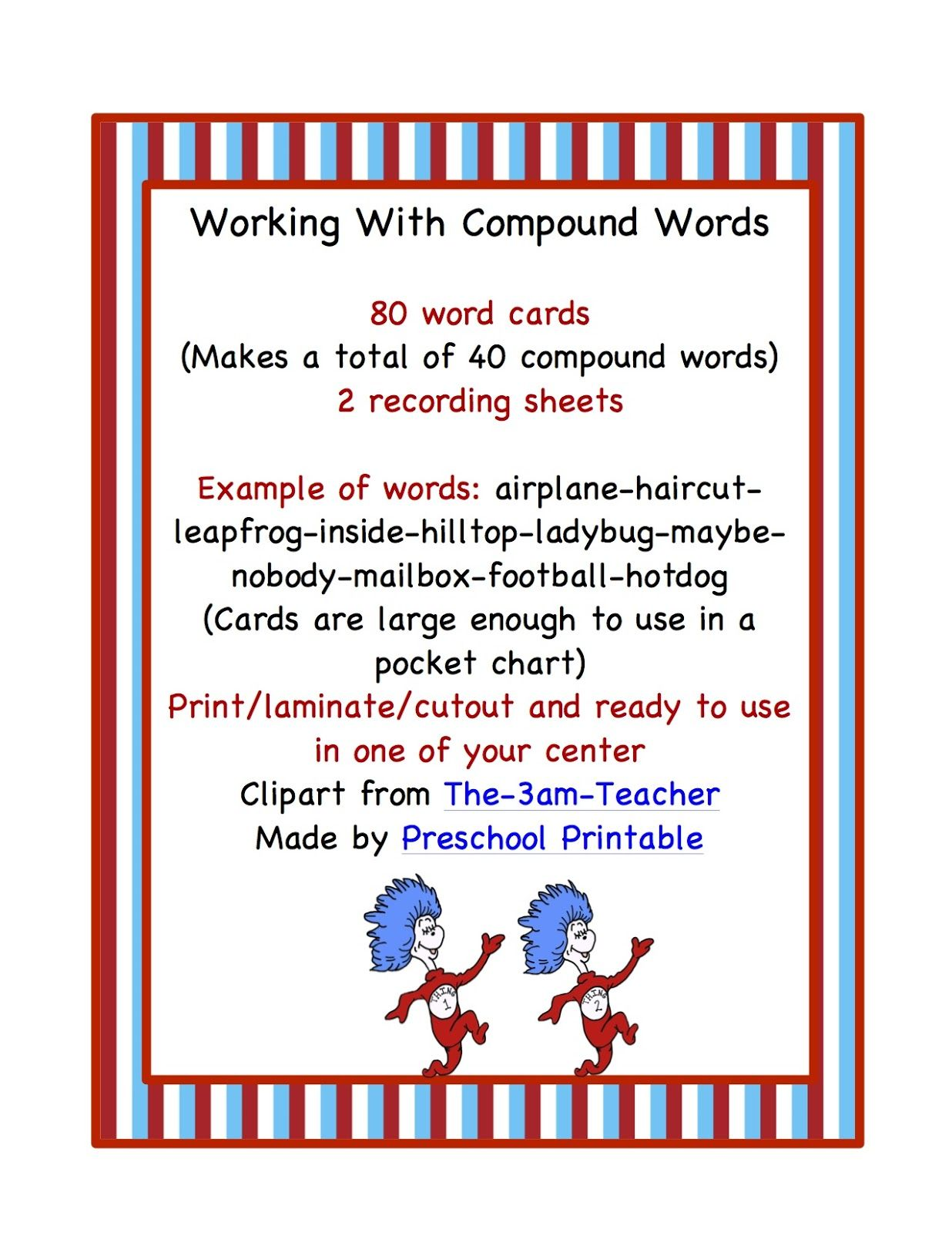 Working With Compound Words