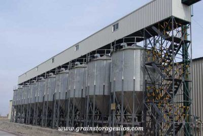Feed Silos Are The Steel Silos With 60 Cone Bottom Which Are Commonly Used To Storage Small Capacity Pelleted Products And Grai Silos Grain Silo Small Storage
