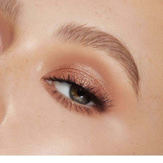 Photo of Rose gold – eye makeup – Miladies.net
