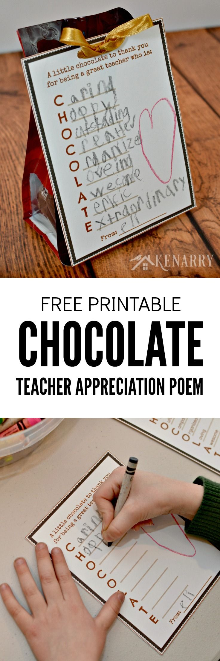 Teacher Appreciation Gift Free Printable Tag For -1020
