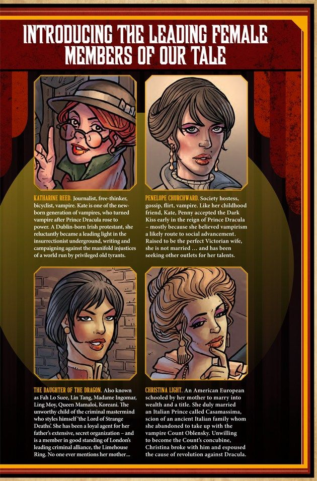 Anno Dracula Fangirlnation Magazine Dracula Comic Book Cover Mystery