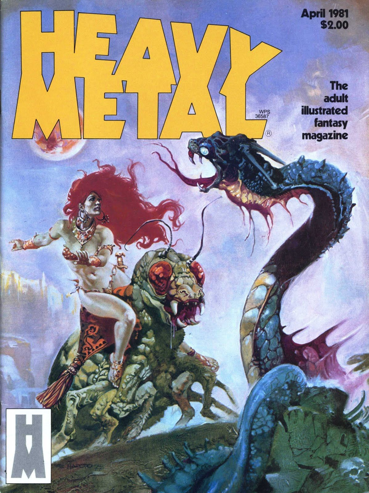 Heavy Metal magazine, 1981 | Robots and Monsters | Heavy ...