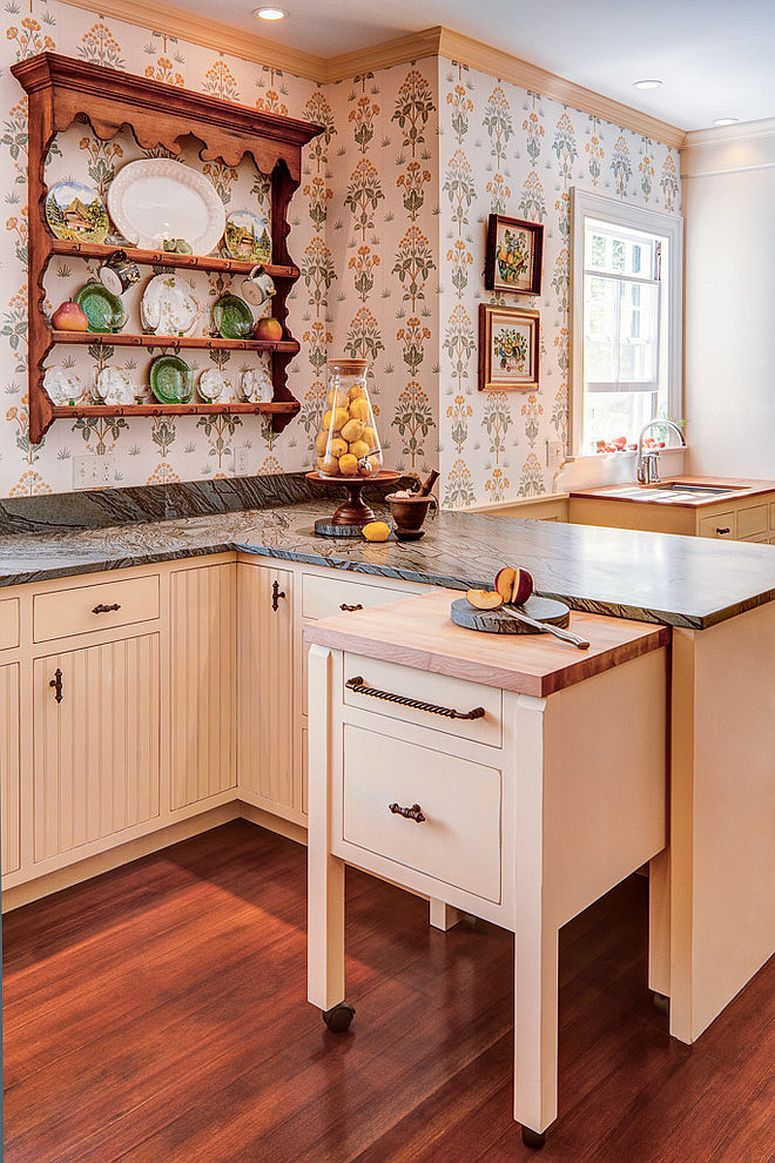 Bringing Back A Classic 25 Trendy Ways To Add A Plate Rack Home Kitchens Kitchen Remodel Kitchen Design