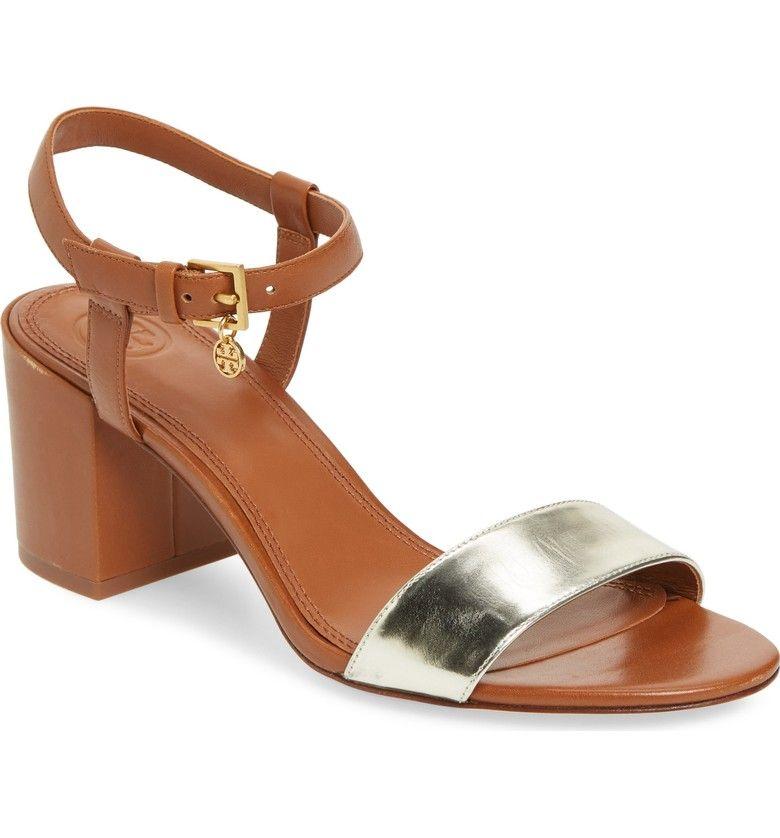 d70a6d844d5f Main Image - Tory Burch Laurel Ankle Strap Sandal (Women)