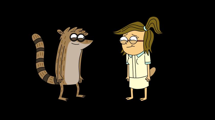 Eileen Flat Screen Vector Regular Show Cartoon Cartoon Network