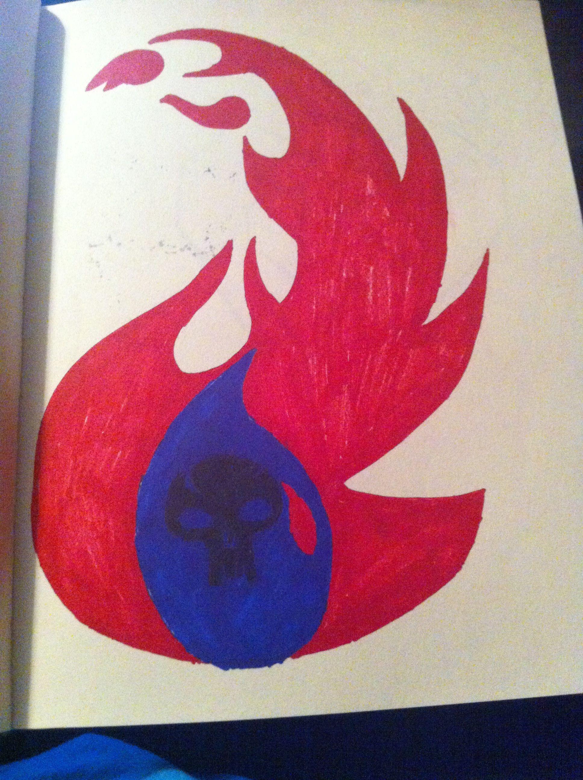 Redblueblack mana symbol my stuff pinterest redblueblack mana symbol biocorpaavc