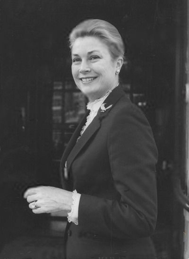Princess Grace Outside the Connaught Hotel