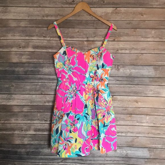 4650c92e58a112 Lilly Pulitzer Dresses & Skirts - Lilly Pulitzer Christine Besame Mucho  Dress