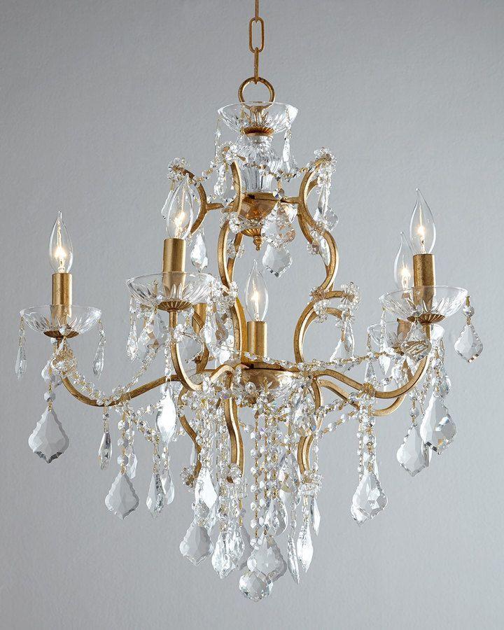 Astrid 6 light chandelier
