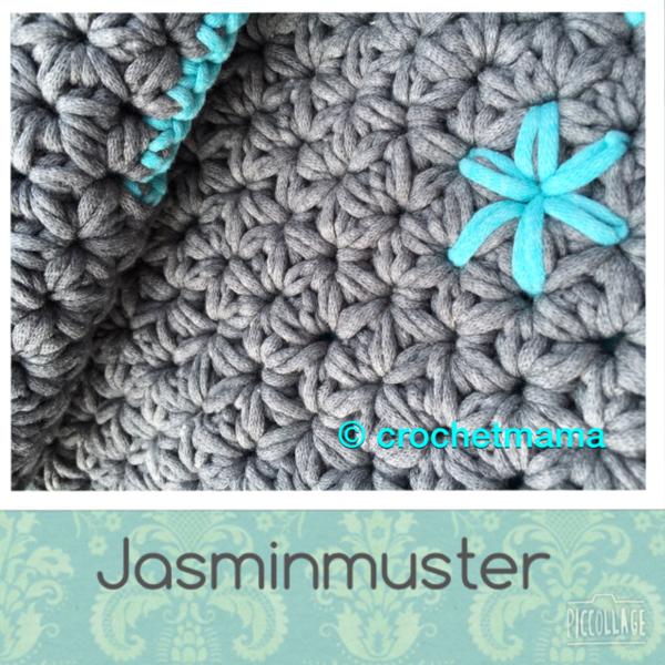 Häkelanleitung Tutorial Jasminmuster Sternmuster Ideas Crochet