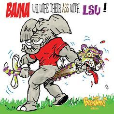 Bama Jokes Search Results Funny Lsu And Alabama Cartoon Pictures