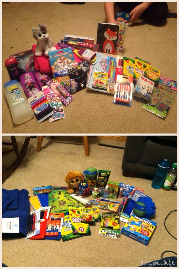 Orphan care packages Orphan care package, Operation