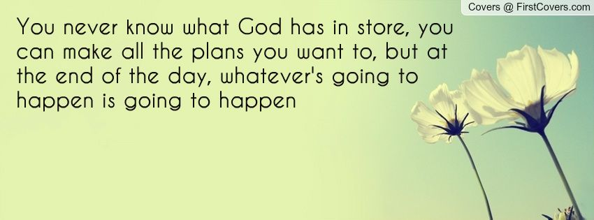 Bible verses about god has a plan
