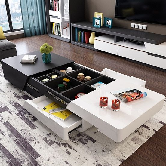 Modern Chic 51 Centre Table Living Room Coffee Table Stylish Coffee Table