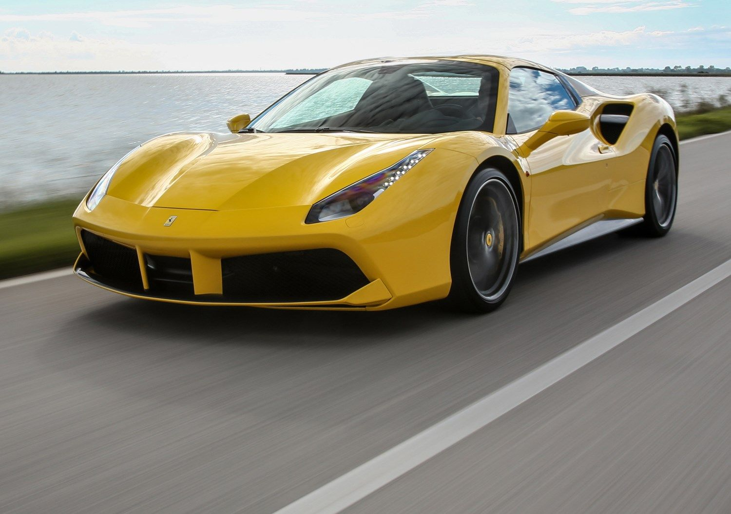 Less roof means more noise from the Ferrari 488's V8