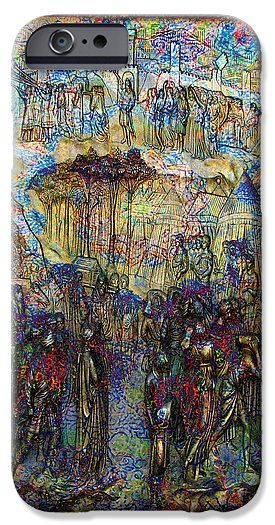 Ghiberti IPhone 6s Case featuring the digital art Gates Of Paradise by Joseph Mosley