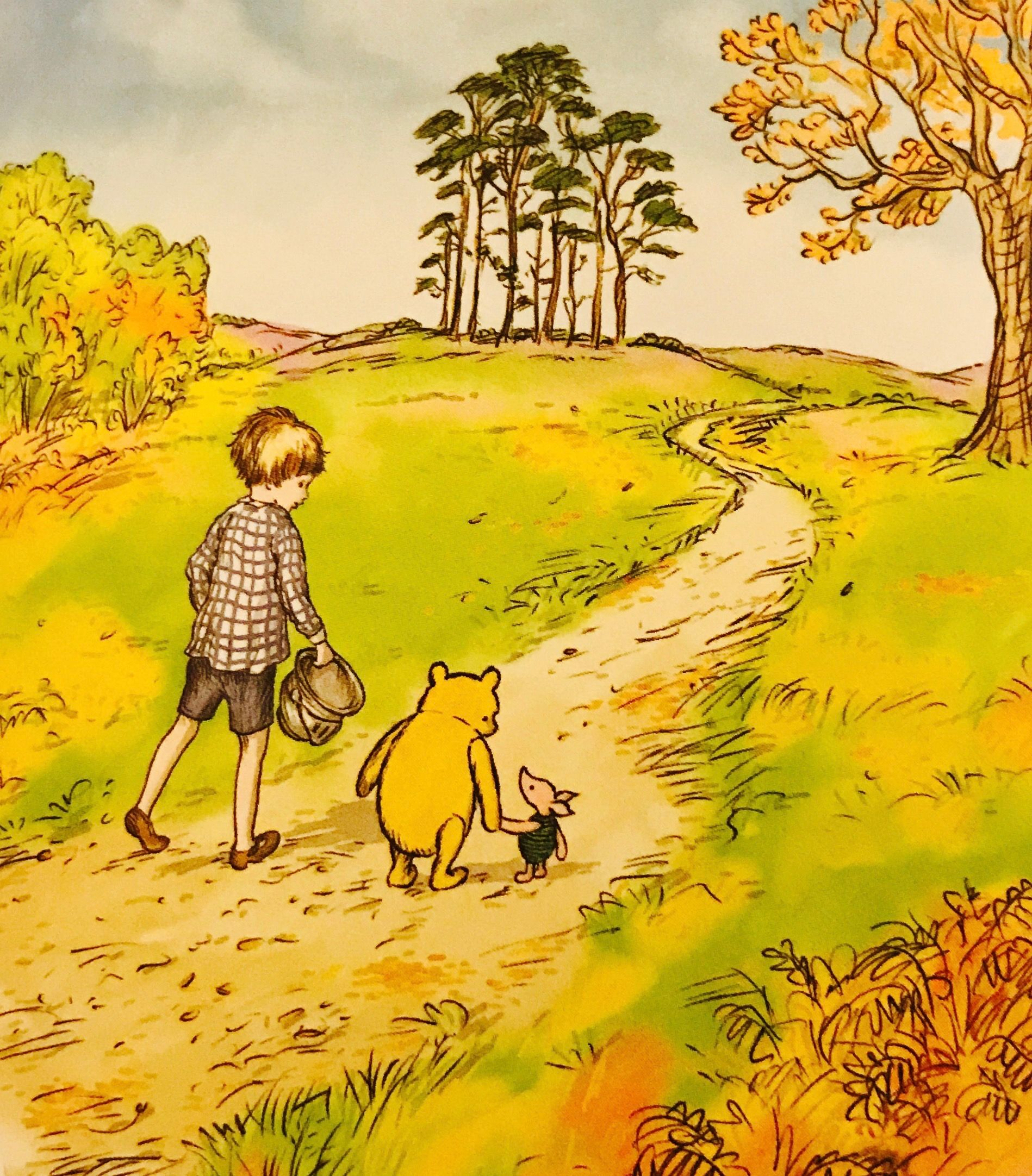 Pooh, Piglet and Christopher Robin from \'The Best Bear in All the ...