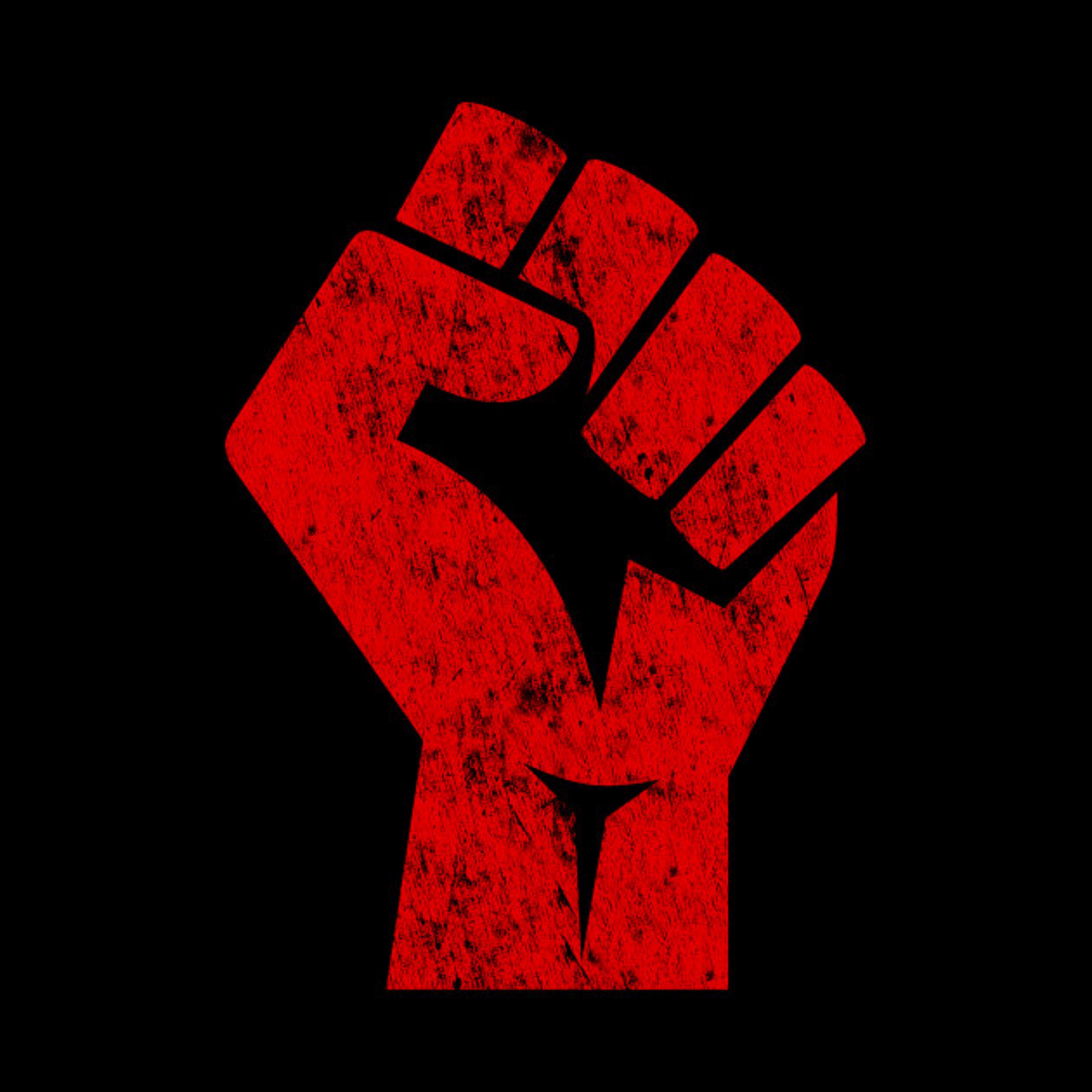 'Socialist Fist ' Premium TShirt by Galahad221 in 2020