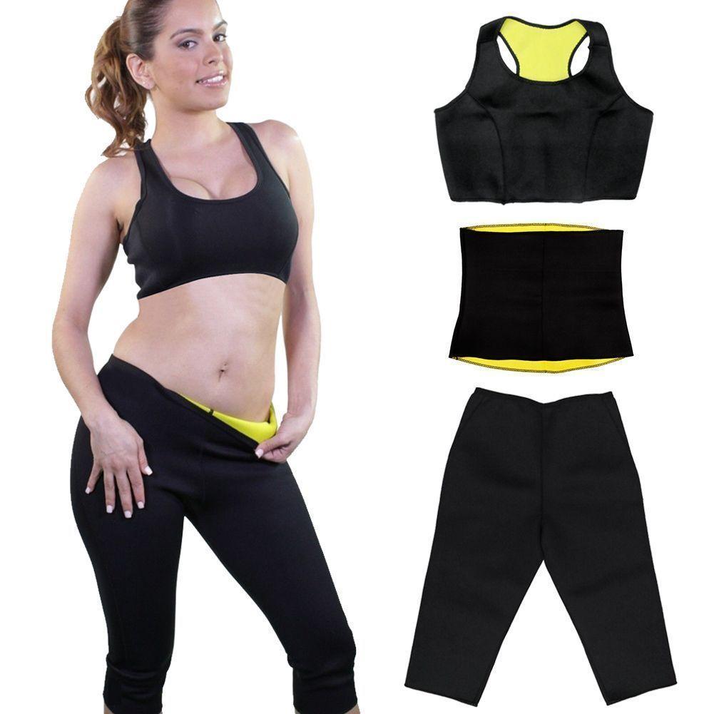 Women Sport Neoprene Sweat Sauna Yoga Vest Belt Shaper Sliming Waist Shapewear