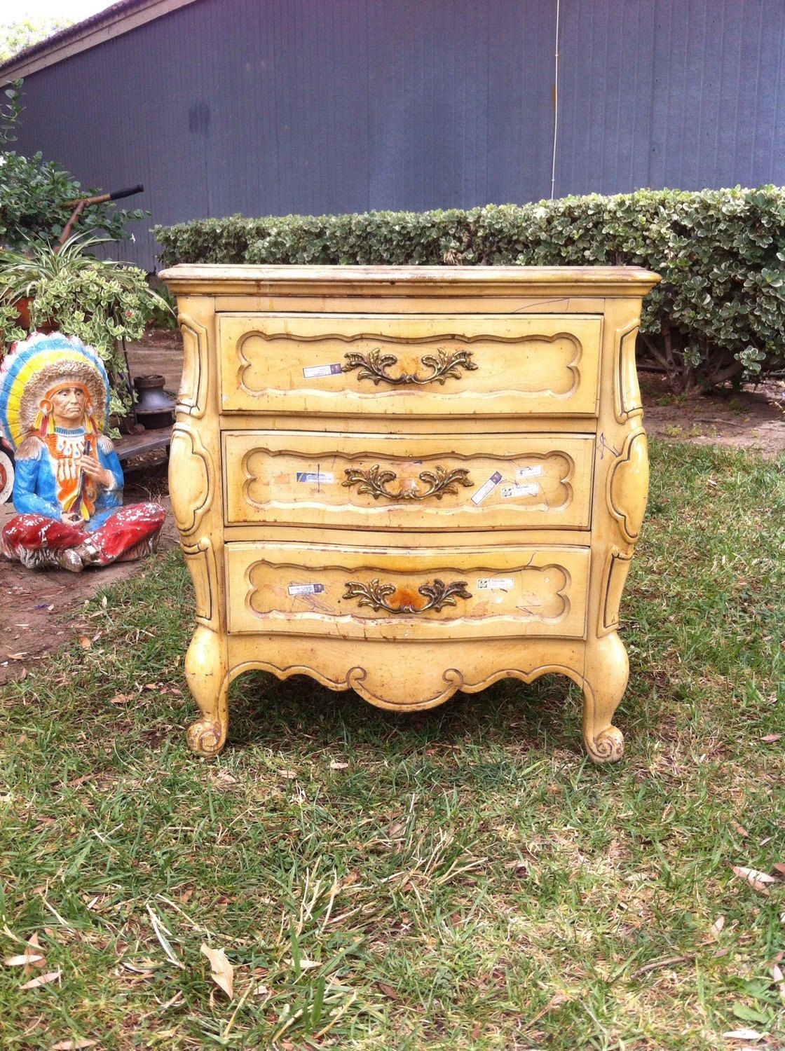 Small Dresser Small Chest Of Drawers Painted Dresser French Provincial Shabby Chic Nightstand Night Shabby Chic Nightstand Small Dresser Small Chest Of Drawers