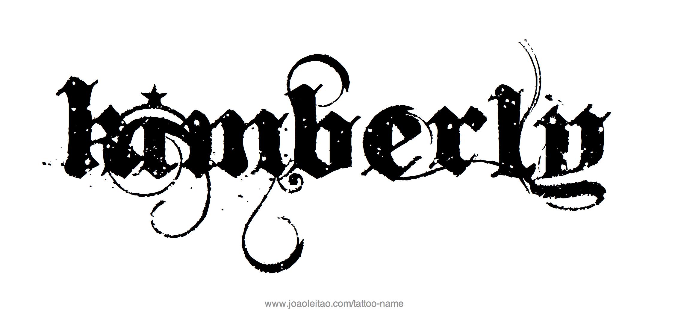 Kimberly Name Tattoo Designs Name Tattoo Designs Name Tattoos Name Tattoo