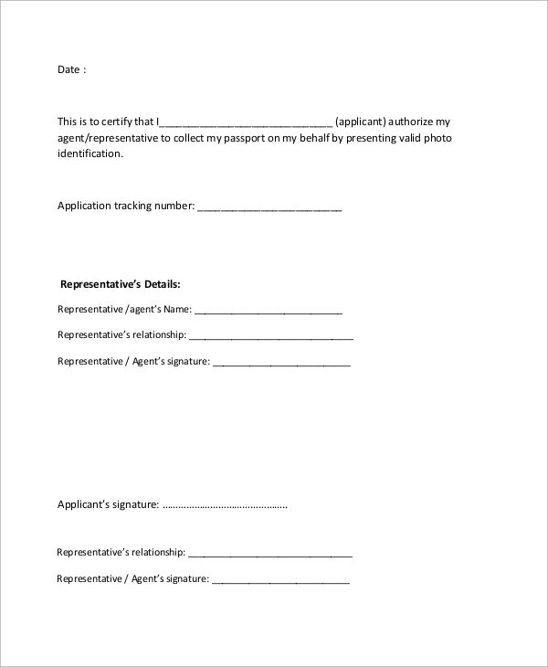 sample authorization letter examples word pdf for example the - sample authorization letter