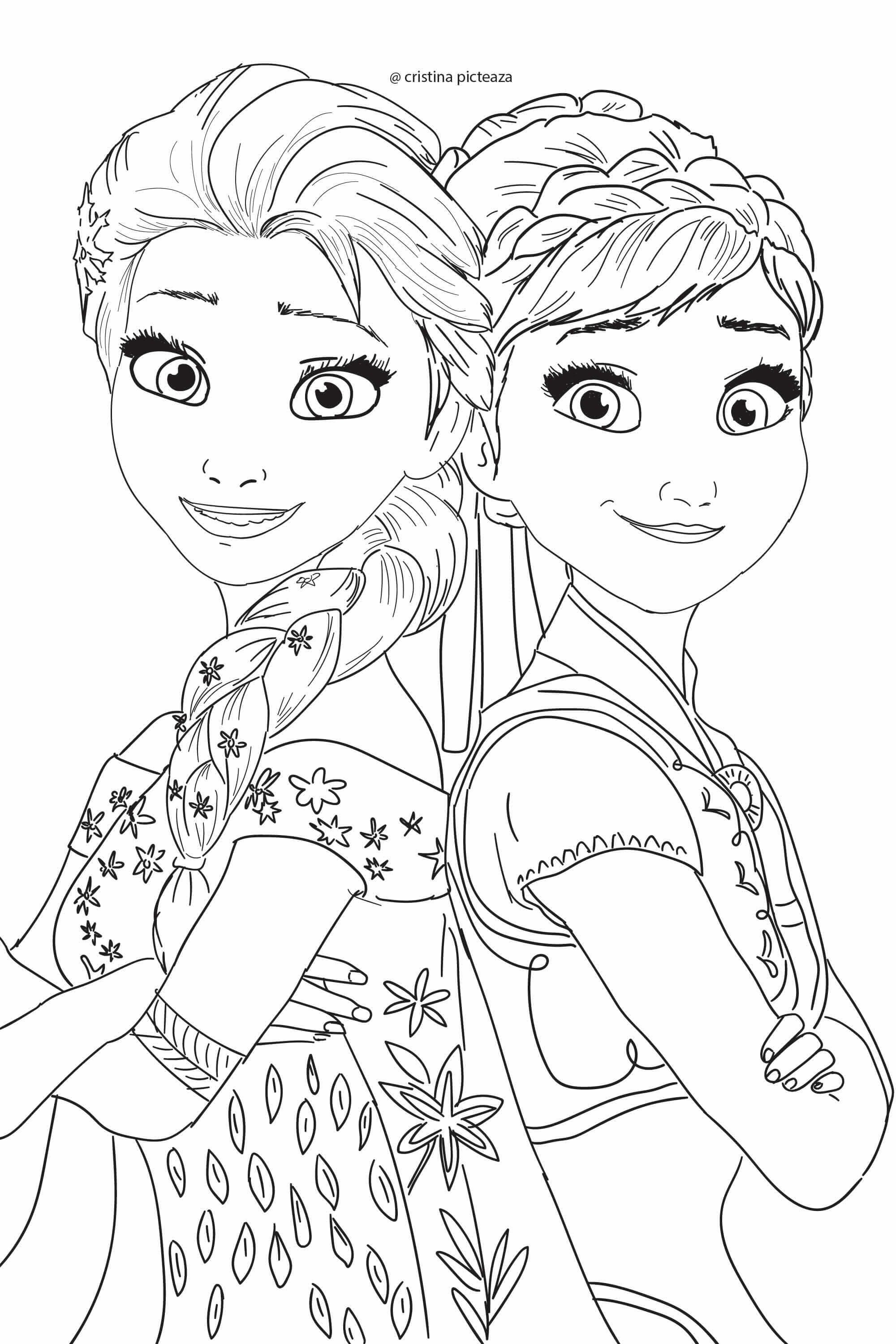 Found On Bing From Cristinapicteaza Com Disney Princess Coloring Pages Elsa Coloring Pages Frozen Coloring Pages