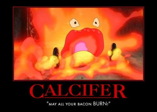 Calcifer Quotes Howls Moving Castle Calcifer Anime Pinteresthowl