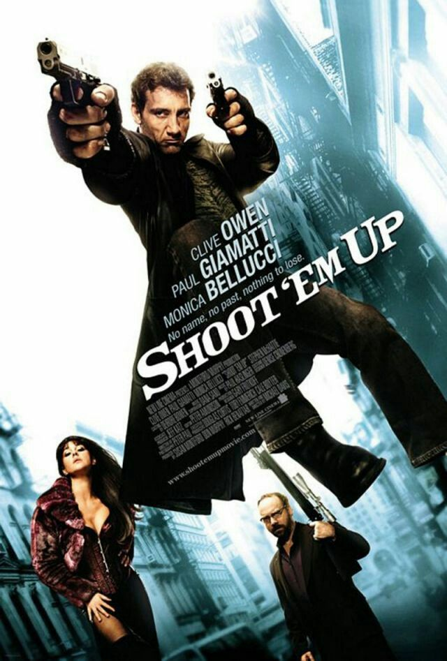 Shoot Em Up Movie Poster Action Adventure Movie Posters