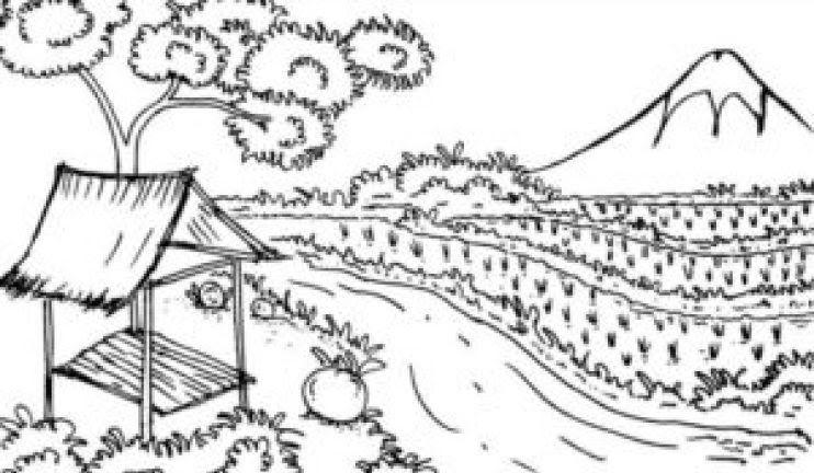 Baru 30 Sketsa Gambar Pemandangan Alam Pedesaan 1000 Gambar Sketsa Pemandangan Alam Fokussatu Com Download 17 Contoh G Di 2020 Gambar Pemandangan Cara Menggambar