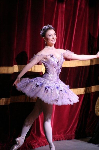 Claire Calvert as the Lilac Fairy in 'Sleeping Beauty'