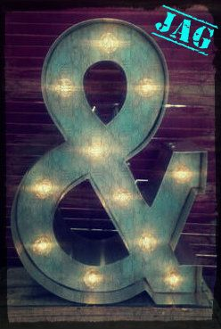 """21"""" Marquee Ampersand"""
