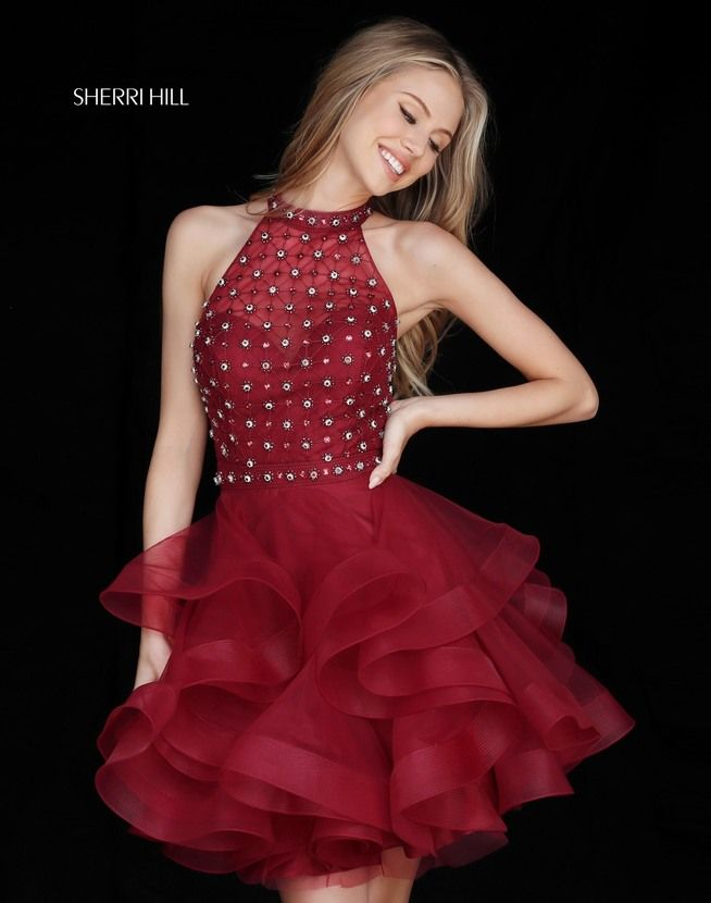 Check out the latest Sherri Hill 51559 dresses at prom dress stores  authorized by the International Prom Association.