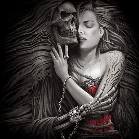 10 Cosas Sobre La Muerte Que No Sabias Grim Reaper Art Dark Fantasy Art Art