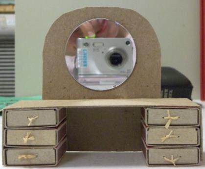 Сделать своими руками кукольную мебель из картона своими руками 34