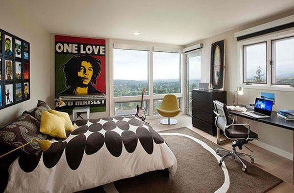 10 Teenage Boys Music Bedrooms Music Themed Bedroom Music