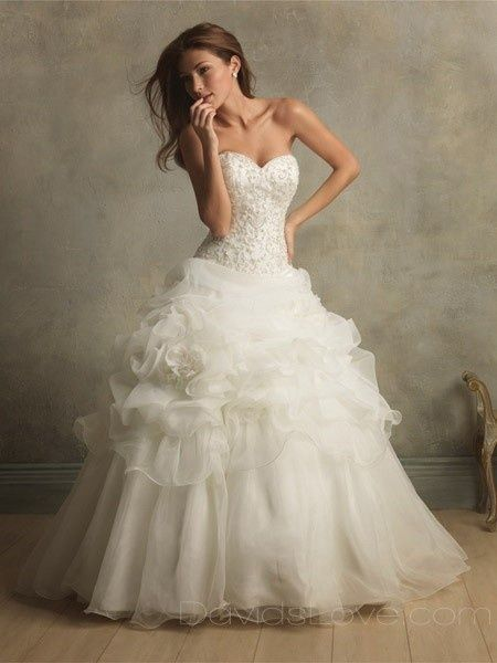 Prettiest Wedding Dress Ever Pretty Dresses