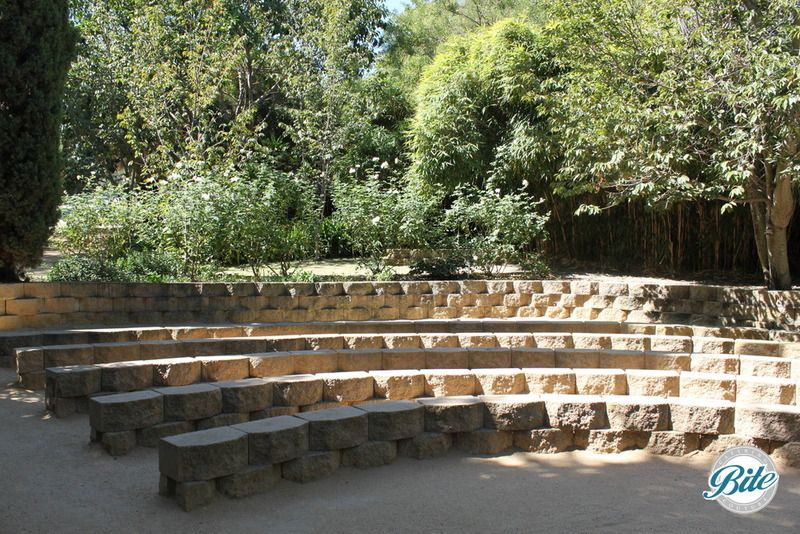 south coast botanic garden amphitheater seats casual wedding south coast botanic garden. Black Bedroom Furniture Sets. Home Design Ideas