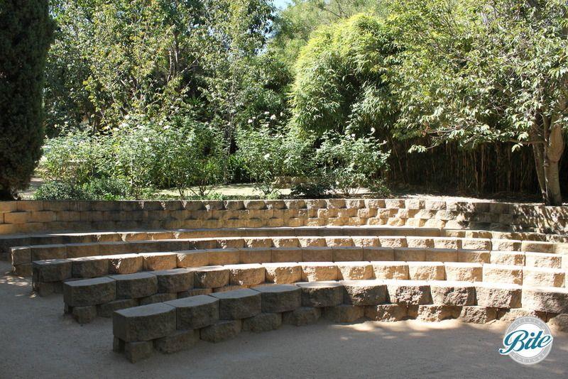 South Coast Botanic Garden Amphitheater Seats: