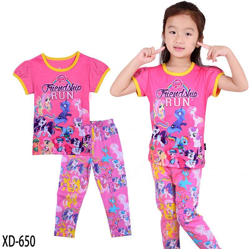 3518a74cc03c Купить товар 2017 пижамные комплекты хлопковое ночное белье детская одежда  2 шт. дома моды пижамы