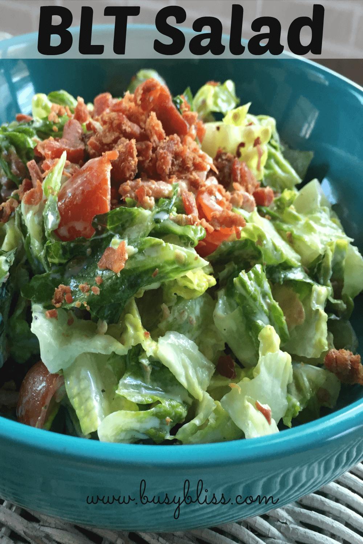BLT Salad | Recipe | Blt salad, Lettuce salad recipes ...