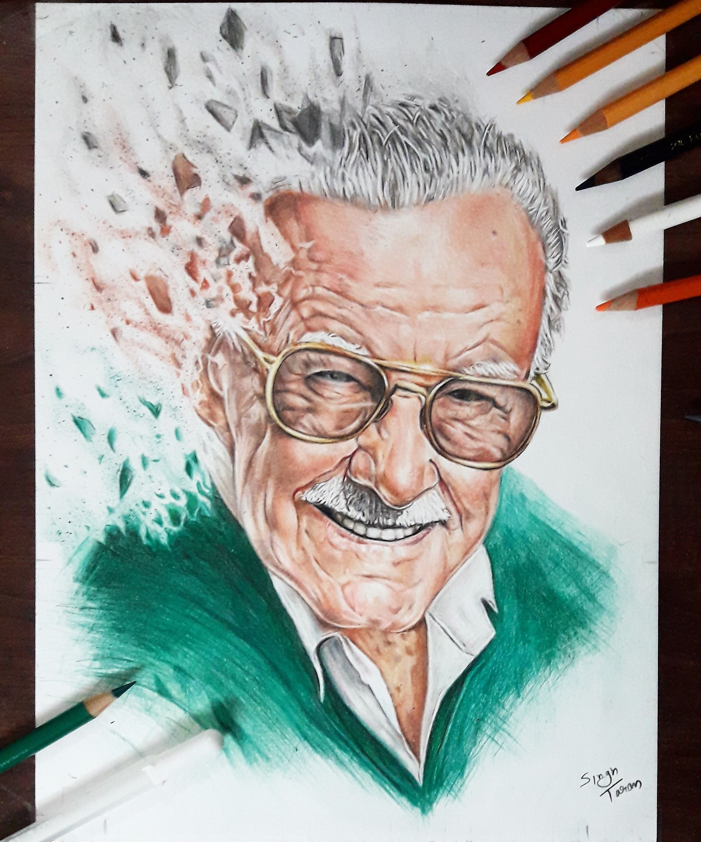 proIsrael: Stan Lee Drawing