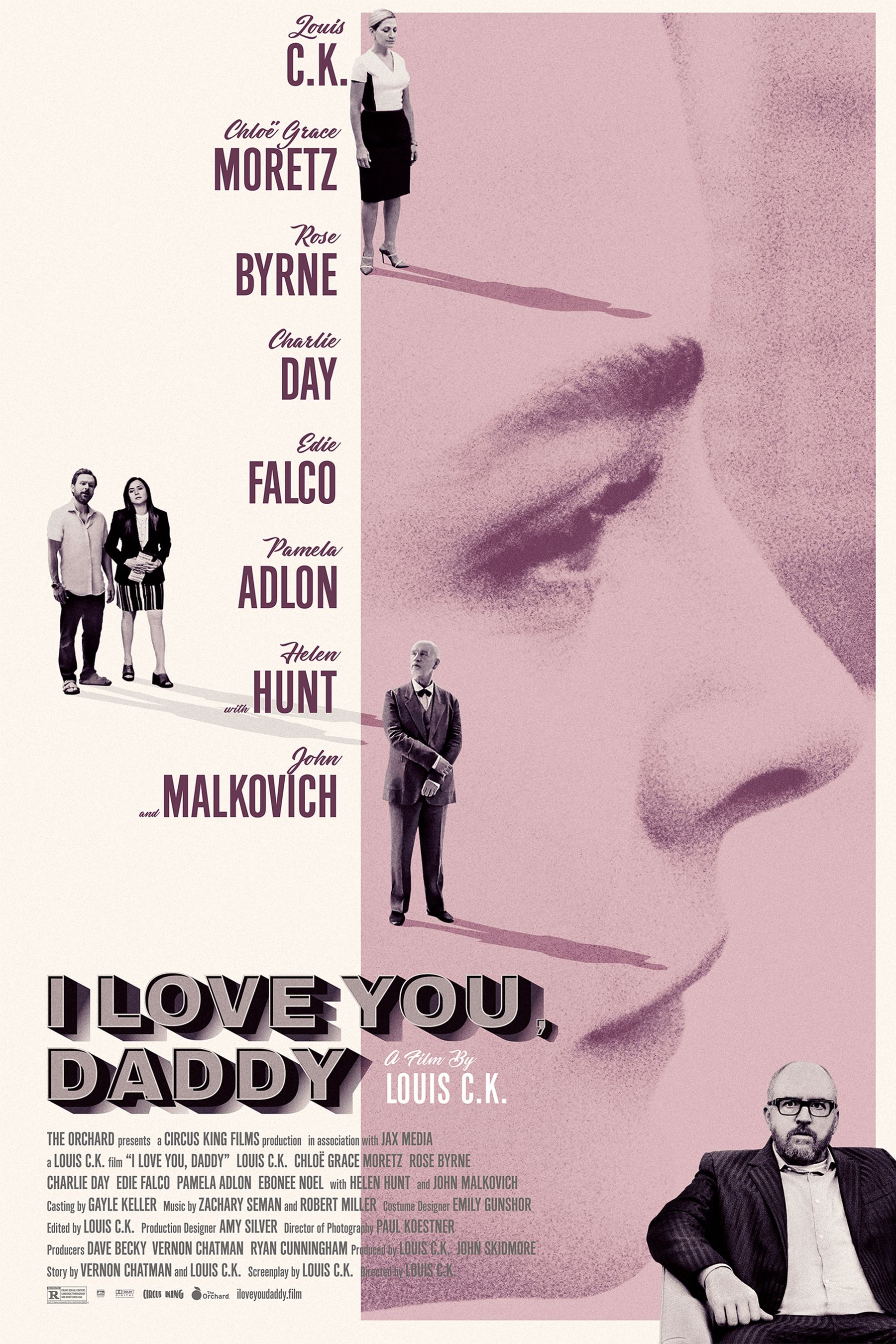 'I Love You Daddy' Official Poster Louis C.K. Chloe